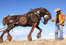 ProfStory.ru: John Lopez / John Lopez - искусный скульптор и создатель могучих железных существ
