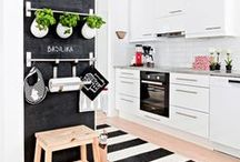Chalkboard Kitchen / www.designimports.com/collections/chalk-it-up