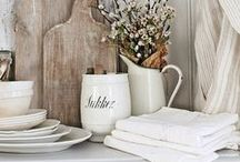 French Country Kitchen / www.designimports.com/collections/fleur-de-lis