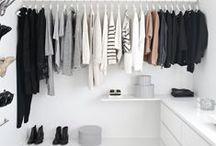 Guarda roupa minimalista