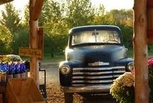 Old Trucks & Cars