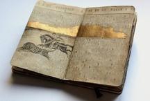 books e.t.c / ( books, journals, sketckbooks, assemblage, collage, mixed media )