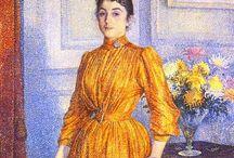 Le vase dans le portrait