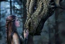 Dragons and legends / Dragons, vampires, werewolves and all things legendary