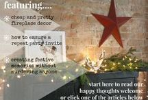 The Holiday Issue / The Happy Space Project's December blogazine issue - all about the holidays