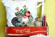 Reciclados (Decoración, Objetos Deco) / Reciclados (Decoración, Objetos Deco) Fotos encontradas en la Web / by Maimé Deco