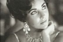 Liz Taylor Bling! / Elizabeth Taylor was well known for her love of sparkly diamonds and all things bling! Follow our board and discover just how lavish she liked it! www.jewelleryworld.com