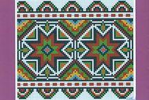 Схеми до вишиванок, рушників _ Vyshyvanky charts / by Iryna Rozumnyuk