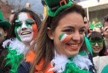 St Patrick Day / céad míle fáilte meaning a hundred thousand welcomes. St Patricks Day is our national holiday which is celebrated on the 17th March very year. The only day the hole country goes green.