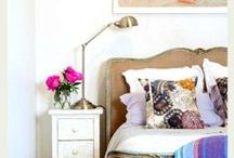 Master Bedroom Focal Walls / How to dress up the wall behind 'yer bed
