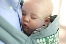 Baby Carriers - Keep baby close to your heart / What better way to have your baby snuggled up close to your heart sharing the rhythm of each heart beat.