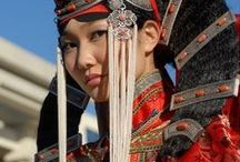 Traditional Clothing / Various cultural outfits from around the world
