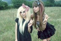 Scene Kids / I know it says Scene Kids but this is also for hair, makeup and clothing inspo :3