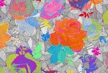 Wzorzyście / Wzory, tkaniny, inspiracje