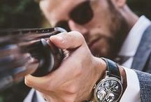 creative photos of men´s watches / Creative photographs of men´s watches. Great for inspiration.