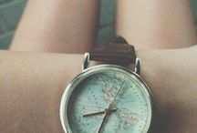 creative photos of women´s watches