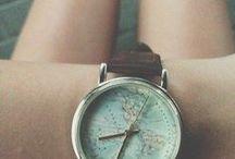 creative photos of women´s watches