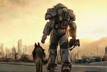 Vidya games / bioshock, fallout, metro, ect.