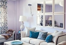 Living Room Inspiration / Creating a beautiful living space by taking inspiration from across the web