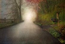 Roads / The paths we choose to walk define what and where we end. Choose them wisely. Some road can be found here.