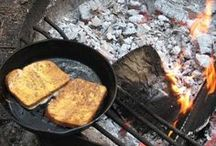 Food Over the Fire / Camping recipes