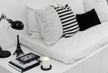 Black & White interior | Zwart+Wit interieur