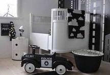 Nursery & kidsroom black & white | Babykamer & Kinderkamer in Zwart+Wit / Nursery & kidsroom black & white | Babykamer & Kinderkamer in Zwart+Wit - woonblog stijlvolstyling.com