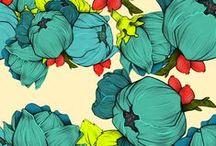 Inspiration // Patterns / Photographies et illustrations sur le thème du motif