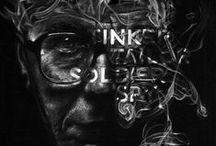Black - Noir / Black inspiration #illustration #photographie #print #graphisme  #graphicdesign #painting