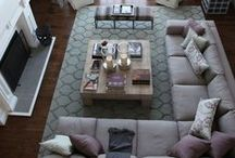 living room ideas and inspiration / The living room and family room is where most of my time is spent with my family. I got so much inspiration from these cozy, bright, sunny, and warm spaces for a family home.  / by Our house now a home