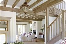 wood work in home / Adding wood work into a home is such a great way to have a home feel custom. I love all of these ideas and hope to add this detail to my home.  / by Our house now a home
