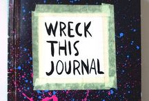 Wreck this journal / Ideas