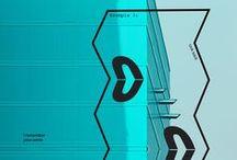 Neon Blue - Bleu Fluo / Neon Blue inspiration #illustration #photographie #print #graphisme #graphicdesign #painting