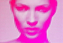 Neon Pink - Rose Fluo / Neon Pink inspiration #illustration #photographie #print #graphisme #graphicdesign #painting