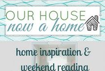 Home inspiration & weekend reading / These blogs and their projects were featured at http://ourhousenowahome.com/ in the Home inspiration series. To be featured in the future you can email emily@ourhousenowahome.com for a chance to be in a Friday post.  / by Our house now a home