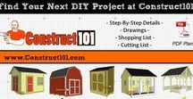 Construct101 PDF Plans / DIY projects, free PDF downloadable plans from Construct101.