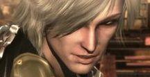 """Raiden / Metal Gear / """"I am lightning, the rain transformed"""" - Raiden"""