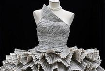 Abiti / Riuso creativo di materiali di riciclo per creare abiti e vestiti   upcycle   recycle   upcycled   recycled