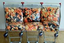 Divani e Sedute / Riuso creativo di materiale di riciclo per creare divani, sedie e sedute   upcycle   recycle   upcycled   recycled
