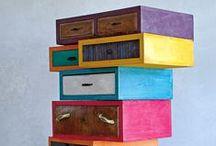 Mobili / Riuso creativo di materiale di riciclo per creare mobili e arredamento per la casa   upcycle   recycle   upcycled   recycled