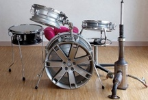 Strumenti musicali / Riuso creativo di materiale di riciclo per creare bassi, chitarre, batterie e altri strumenti musicali funzionanti   upcycle   recycle   upcycled   recycled