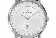Montre CERTUS / Montre CERTUS du style classique avec un côté chic ou sportif pour les hommes et un côté bijou pour les montres dame. Existe aussi pour les juniors.  http://www.bijouterie-influences.com/11_Certus