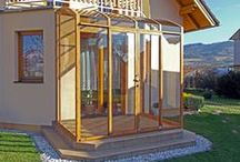 Patio enclosures, Sunrooms, Conservatories, Patio Covers, Veranda Enclosures, Porch Enclosures / Patio enclosures - retractable sunrooms - so you can enjoy open terrace as well as cosiness of enclosed patio. Veranda enclosures, Porch enclosures, Patio enclosures, gazebo enclosures