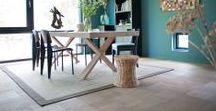 X-type dining table / tafel / Esszimmertisch / Solid French oak - Massief Frans Eiken - Furniture - Meubelen - Tailor made - Maatwerk - Interior - Interieur - Benches - Banken - Lamp tables - Bijzettafels - Consoles - Sideboards - Dressoirs - Cabinets - Kasten - Cubes - Kubus - Coffee Tables - Salontafels - Chairs - Stoelen - Tables - Tafels - Benche - Bank - Bijzettafel - Console - Sideboard - Dressoir - Cabinet - Kast - Cube - Salontafel - Chair - Stoel - Table - Tafel - Van Rossum Meubelen