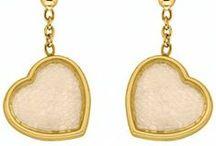 """Bijoux Nina Ricci """"Exquise"""" / Bijoux Nina Ricci """"Exquise"""" : des bijoux en argent rhodié ou plaqué or de la célèbre marque haute couture.  http://www.bijouterie-influences.com/search.php?search_query=exquise"""