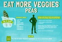Peas / Recipes, cooking tips and fun facts about peas.
