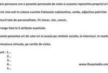 Personal Branding Romania / Tu aduci o contribuţie unică în lume, noi te putem ajuta să te faci remarcat, pentru că din fericire suntem diferiţi! Scopul Personal Branding-ului este să fii recunoscut şi apreciat pentru contribuţia personală şi să controlezi modul in care ceilalţi te percep.  http://www.fluxymedia.com