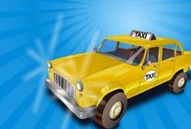 New game up: Taxi Maze! / Drive your taxi through a maze! Enjoy the challenging ride here: http://www.gamolition.com/taxi-maze