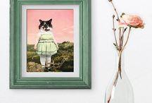 Cat art / Art de chats