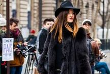 Fashion in Black / Amazing looks in black for inspiration all year